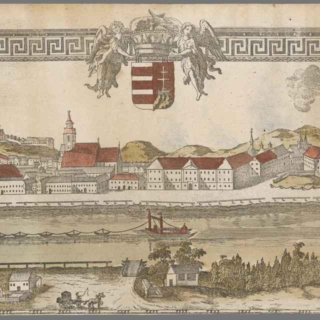 Bratislava z juhu - Prixner, Gottfried