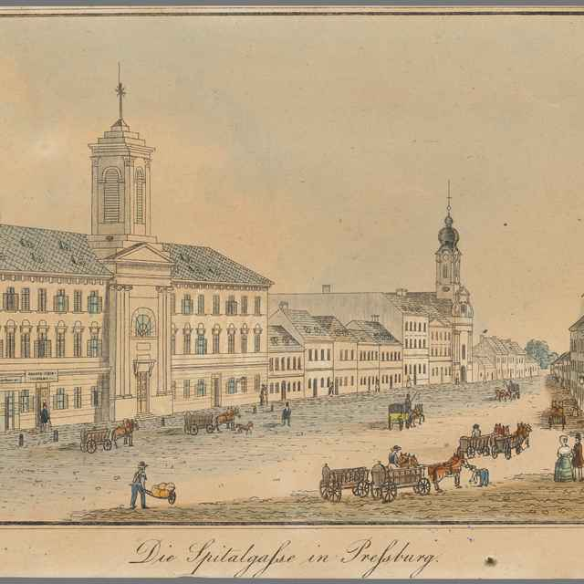 Špitálska ulica v Bratislava - Reim, Johann Vincenz