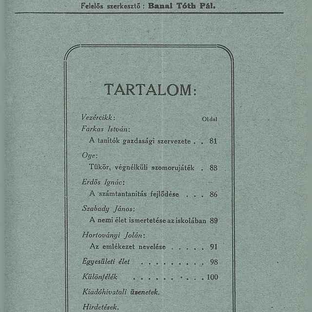 Magyar Tanitó