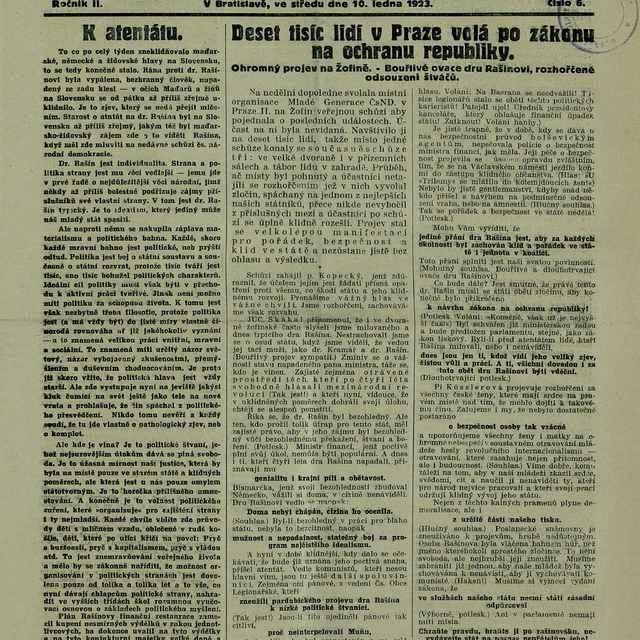 Bratislavské noviny