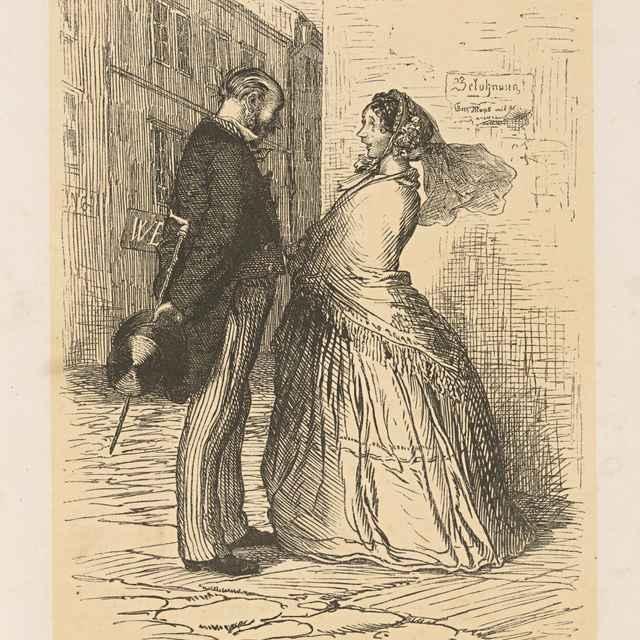 Slečna Fanny a pan Müller - Mánes, Josef