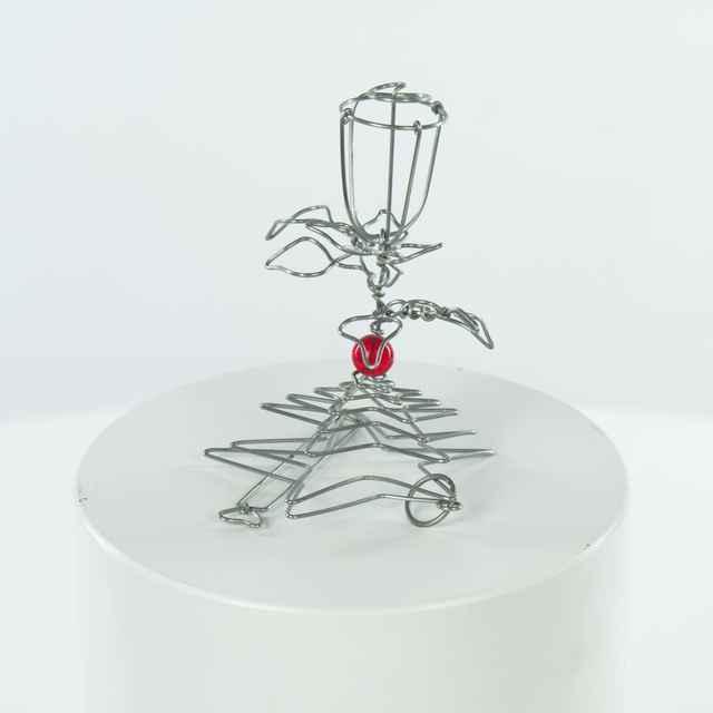 Hlavolamy drôtený - ruža