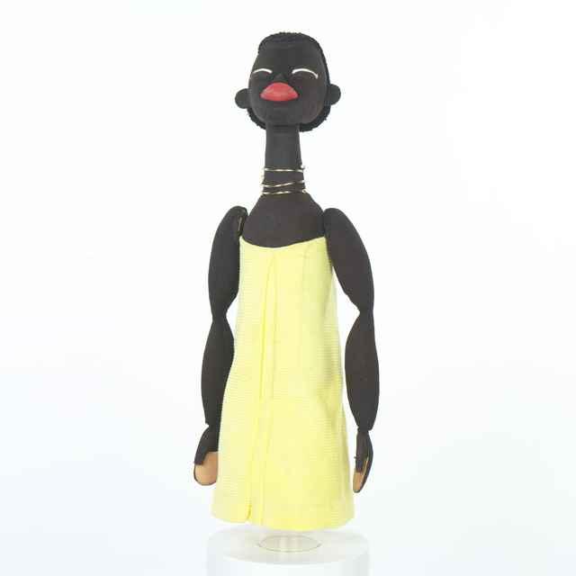 Bábka spodová,černoško