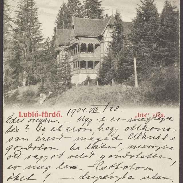 pohľadnica: Ľubovnianske kúpele