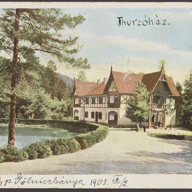 pohľadnica: Thurzovské kúpele