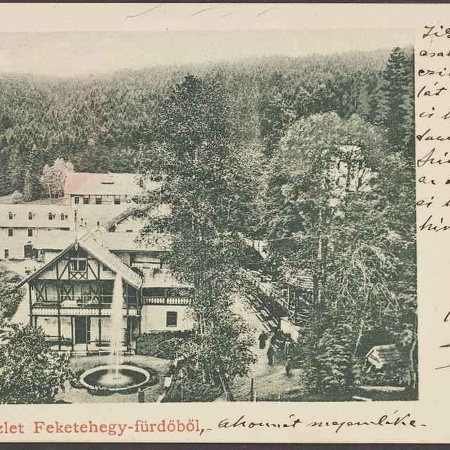 pohľadnica: Černohorské kúpele
