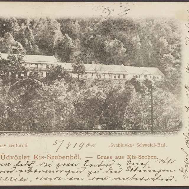 pohľadnica:Sabinovské kúpele