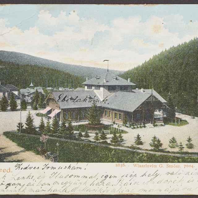 pohľadnica: Novoveské kúpele