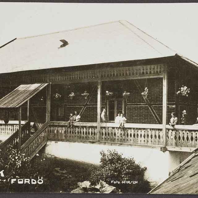 pohľadnica: Vydrník - kúpele