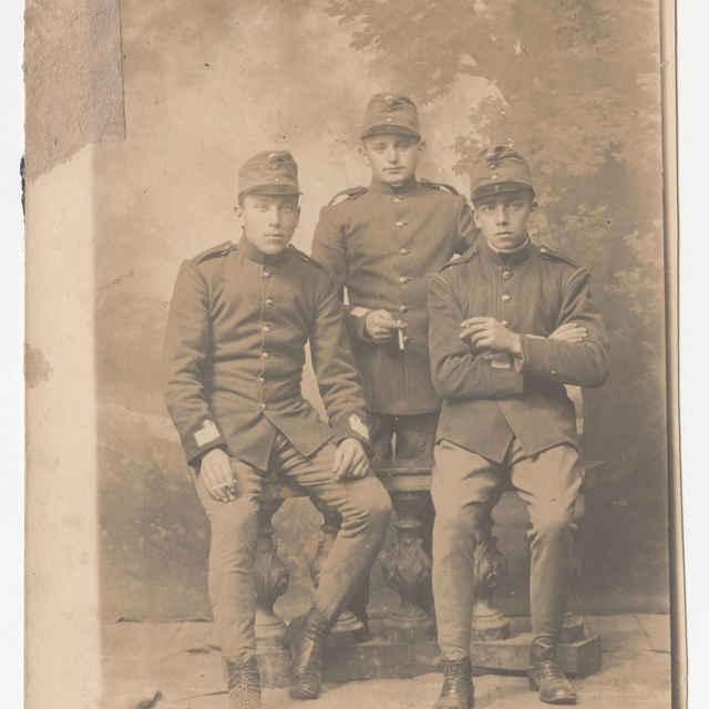 Fotografia vojakov z I. svetovej vojny - Čaplovič Pavol - Muzeálny objekt