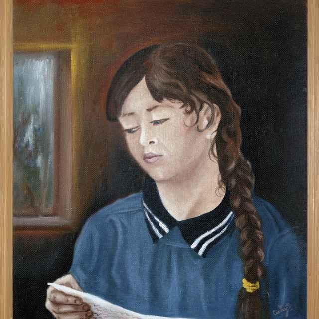 Portrét dievčaťa