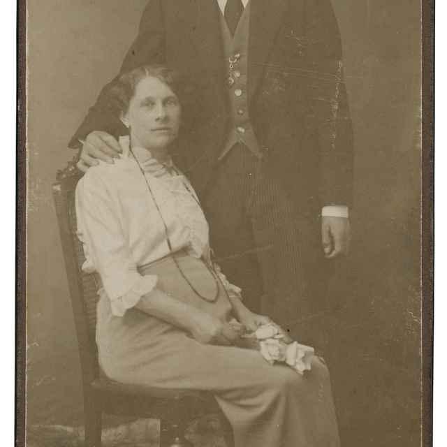Portrét manželského páru - Neznámy autor