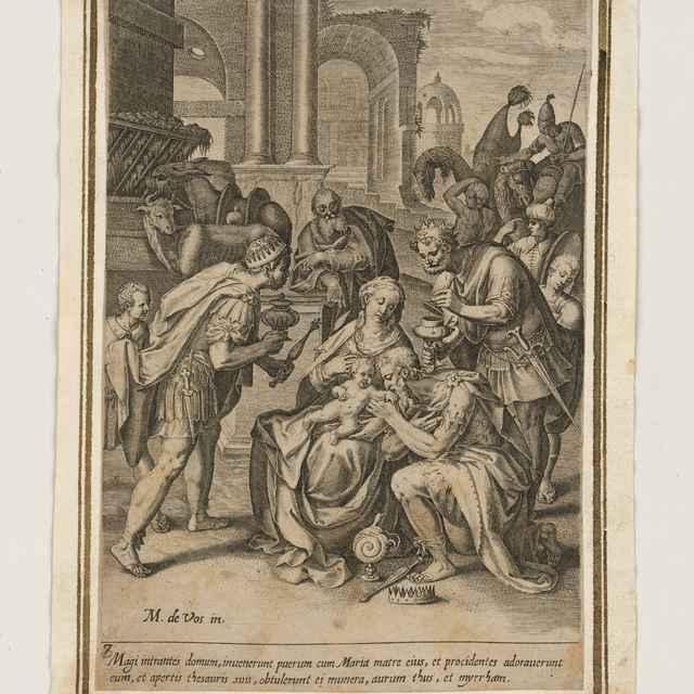 Klaňanie Troch kráľov - Vos st., Maarten de