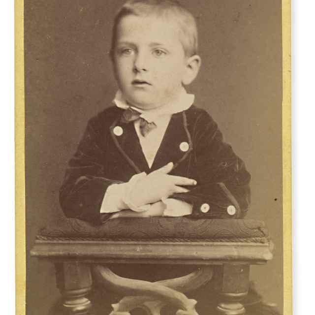 Portrét chlapca - Divald, Karol