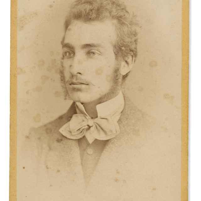 Portrét Arpáda Báno - Divald, Karol