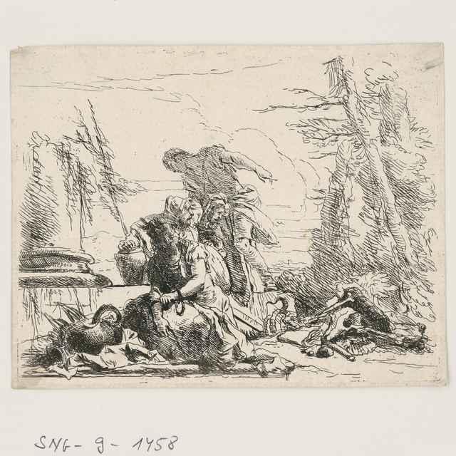Caprici I. - Tiepolo, Giovanni Batista