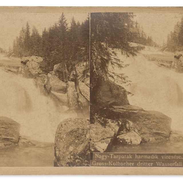 Tretí vodopád Veľkého Studeného potoka - Divald, Karol