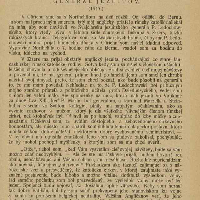 Rímska otázka : - H. W. Steed