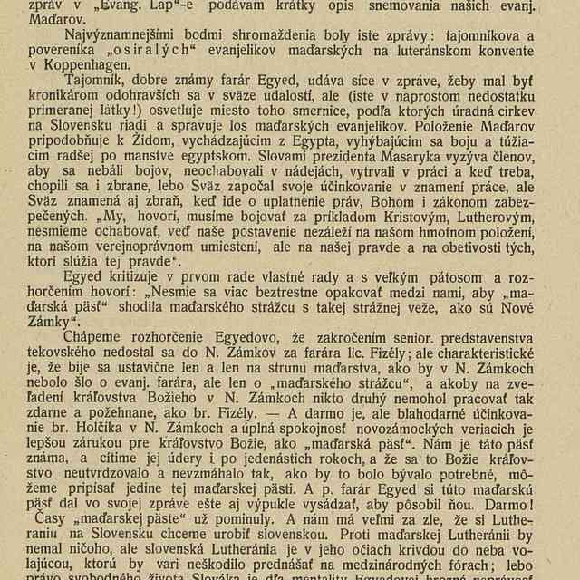 Sväz maďarských evanjelikov na Slovensku - Drobný, Ján
