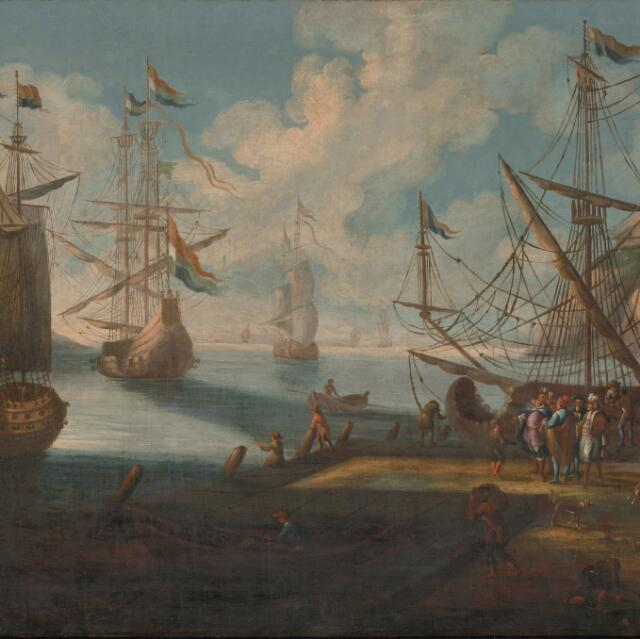 Prístav v obrazoch