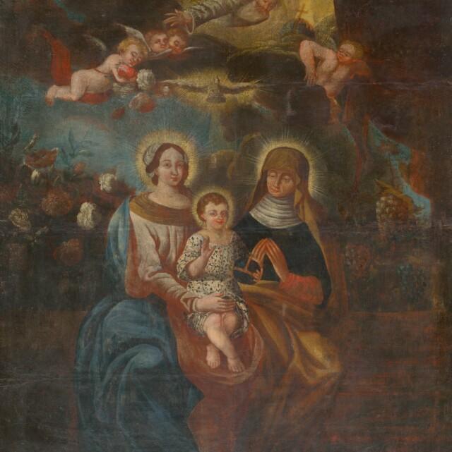 Gloriola - náboženská ikonografia
