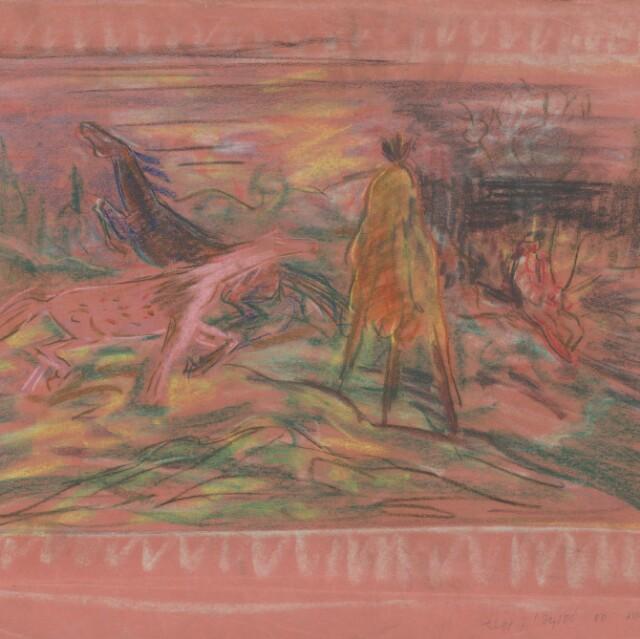 Motív koňa vo výtvarnom umení - Jana Bučková