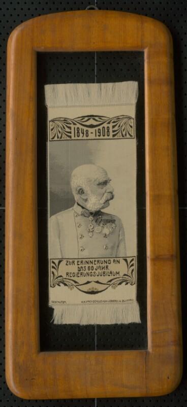 František Jozef - vyšívaný obraz