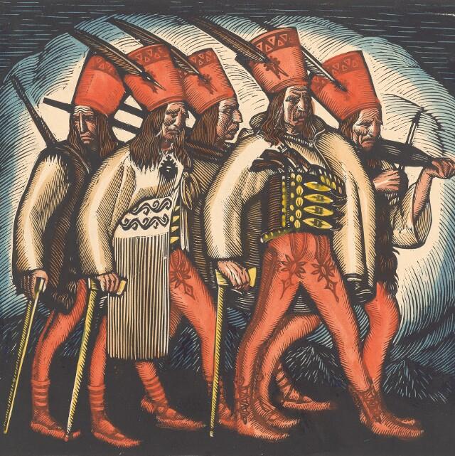 Zbojníctvo v tradičnom ľudovom umení a folklóre