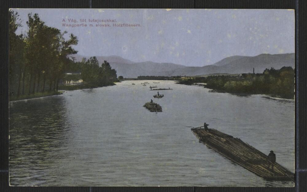 Pohľadnica:rieka Váh