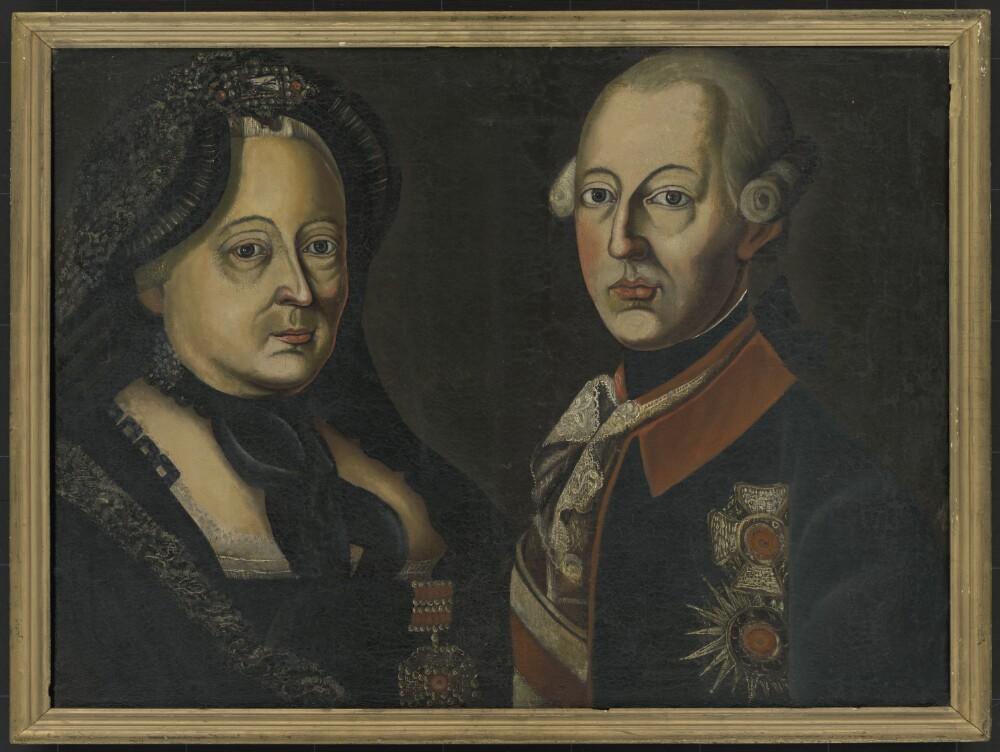 Neznámy maliar: Mária Terézia a Jozef II.
