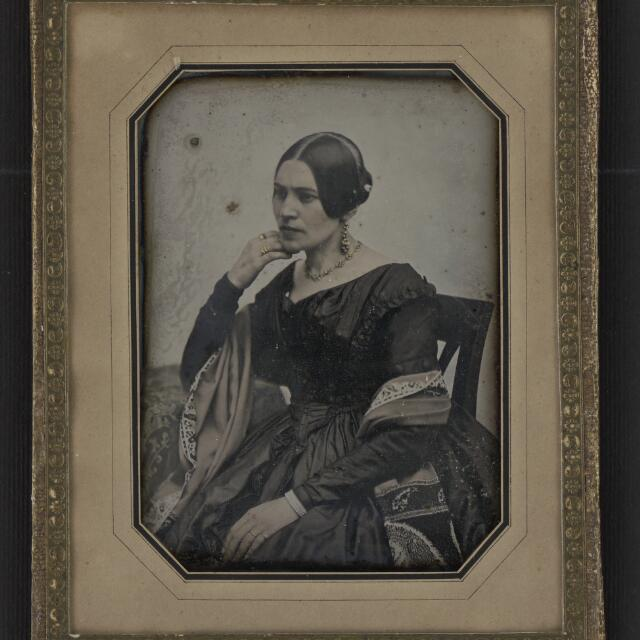 Historické techniky fotografie - Daguerrotypia