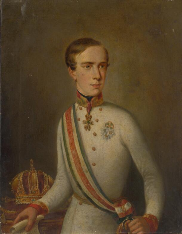 Portrét cisára Františka Jozefa I.