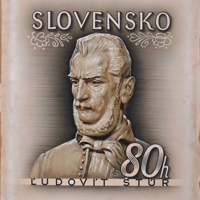 Návrh poštovej známky s motívom Ľudovíta Štúra
